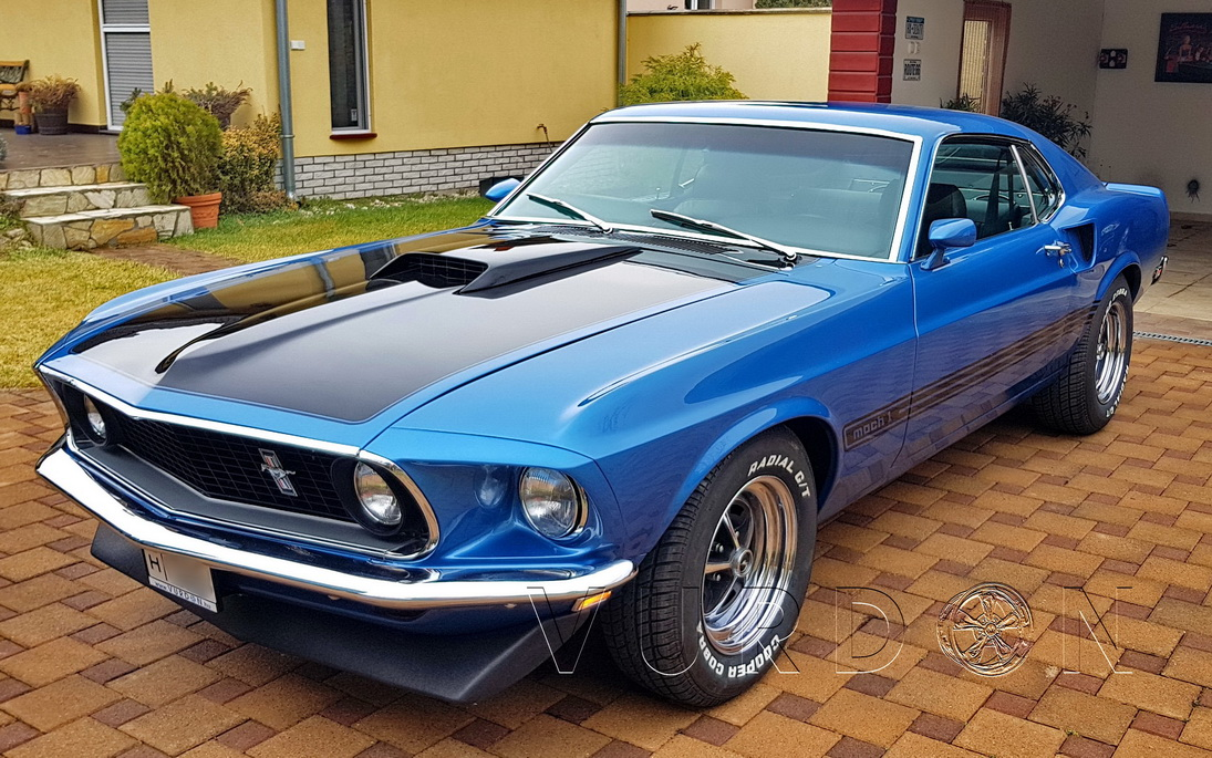 Ford Mustang Mach1 Fastback 350 1969